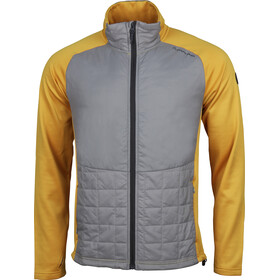 North Bend Bungy Hybrid Jacket Men yellow dijon